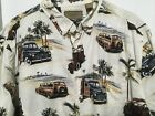 Mens sz XXL Surfing Willys Coupe Shirt