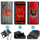 Calgary Flames Leather Wallet Purse Clutch Trifold Women Handbag $15.99 USD on eBay