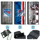 New York Rangers Leather Wallet Purse Clutch Trifold Women Handbag $16.99 USD on eBay