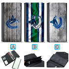 Vancouver Canucks Leather Wallet Purse Clutch Trifold Women Handbag $16.99 USD on eBay