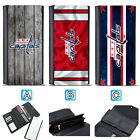 Washington Capitals Leather Wallet Purse Clutch Trifold Women Handbag $16.99 USD on eBay