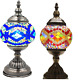 Mosaic Handmade Turkish  Lamp Table Glass  Moroccan Style Electric Light Desk for sale  Shipping to India