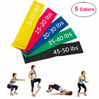 US Elastic Resistance Loop Bands Exercise Crossfit Yoga Fitness Gym Training lot