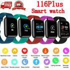 Bluetooth Smart Watch Heart Rate Blood Oxygen Sport Fitness Tracker US Stock