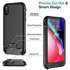 Luxury For iPhone Xr X XS IP68 Waterproof Battery Case Heavy Duty Charging Cover