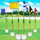 Practice Golf pole Training Courtyard Home Stick Chipping Aid Portable