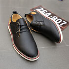 Men Dress Shoes Leather Shoes Formal Oxford Business Casual Shoe Lace up Sneaker