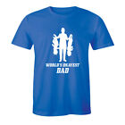 World's Okayest Dad - Father's Day Sarcastic Funny Shirt Men's T-shirt Tee