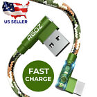 Camo L Shape USB C Cable 90° Type C FAST Charger for Samsung Tablet iPad Air Pro