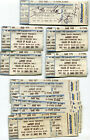 Rock Concert Ticket Stubs Los Angeles 1999-2010 Stones Ozzy Pearl Jam GNR Korn