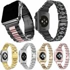 Stainless Steel Strap Wrist Band Strap Replacement For AppleWatch Series 4 3 2 1