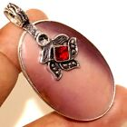 """D10768 Mookaite 925 Sterling Silver Plated Pendant 2.1"""""""