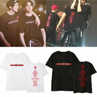 KPOP MONSTA X Unisex T-shirt WE ARE HERE Concert Tops Casual Crew Neck Tee Tops image