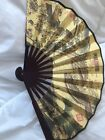 Folding Vietnamese Zen Hand Pocket Ethnic Wood Fan
