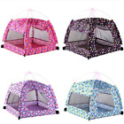 Dog Tent Portable Foldable Outdoor Indoor Breathable Dog House with Mosquito Net