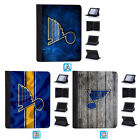 St. Louis Blues Leather Case For iPad Mini 1 2 3 4 Pro 9.7 10.5 Air $19.99 USD on eBay