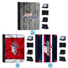 Washington Capitals Leather Case For iPad Mini 1 2 3 4 Pro 9.7 10.5 Air $19.99 USD on eBay