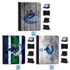 Vancouver Canucks Leather Case For iPad Mini 1 2 3 4 Pro 9.7 10.5 Air $19.99 USD on eBay