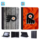 Philadelphia Flyers Leather Case For iPad Mini 1 2 3 4 Pro 9.7 10.5 Air $19.99 USD on eBay