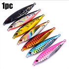 14g 21g 30g Colorful  Spinning Baits Lead Casting Fishing Lures Jig Metal Slice