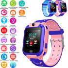 Kids Anti-lost Safe LBS Tracker SOS Call GSM Smart Watch Phone For Android IOS