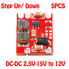 5x Automatic Buck-Boost DC-DC 2.5V-15V to 12V Step Up Down Power Voltage Module