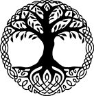 Viking Norse Mythology Yggdrasil Tree Of Life Decal Sticker Car Window Wall Door