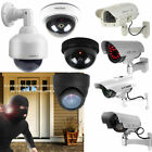 Solar Power Fake Dummy Camera Video CCTV Home Security Surveillance Monitor