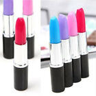 Cute Lipstick Ball Point Ballpoint Pen Office Stationery Writing Pens Plastic