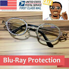 Rappers Glasses Iced Out Shinny DIAMOND Hip Hop Quavo Multicolor 14K Gold Migos
