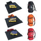 Outdoor Foldable Rock Climbing Rope Bag Gear Equipment Holder Storage Backpack