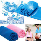 Instant Cooling Sports Gym Towel Ice Cold Enduring Running Jogging Chilly Pad image