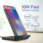For LG G8/G7/V40/V50 ThinQ 5G Qi Wireless Fast Charger Charging Stand Pad Dock