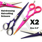 "5.5"" Barber Professional Haircutting & Hairdressing Scissor Stylish Saloon Tools"