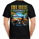 T Shirt Bike Week Daytona 2020 Biker Life Event Motorcycle black no Harley  image