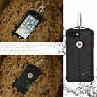 Waterproof Net Pattern Protective Full Rear Cover Shell Case for iphone 7 PLU FR