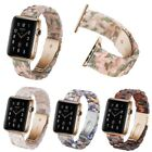 Resin Bracelet Wrist Strap For Apple Watch Band iWatch Series 5 4 3 2 1 40 44mm image