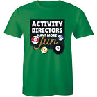 Activity Directors Have More Fun Pool Billiards Game Men's T-Shirt 8 Ball League $17.63 USD on eBay