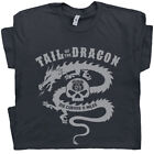 Tail Of The Dragon T Shirt Cool Motorcycle Graphic Tee Harley Indian Route 66 $15.99 USD on eBay