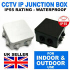 WHITE/BLACK DEEP BASE JUNCTION BOX CASE FOR BULLET MINI DOME CAMERA CCTV CABLE