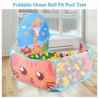 Portable Baby Playpen Outdoor Indoor Ball Pool Toddlers Play Tent Three Colors