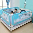 Внешний вид - Baby Bed Fence Safety Gate Child Barrier Crib Rail Security Fencing Kids Playpen