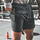 Mens Sports Shorts Gym Jogging Running Training Wear Boxer Beach Short Pants