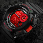 Men's Army SHOCK Sport Quartz Wrist Day Date Digital Watch Waterproof Military image