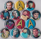 "Star Trek 1"" Pinback Buttons or Magnets set of 14 on eBay"
