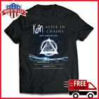 FREESHIP Korn And Alice In Chains T Shirt North American Tour 2019 Full Size Tee image