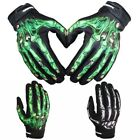 Outsport Finger Bone Racing Bicycle Motorcycle Gloves Skeleton Costume Sports US