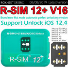 R-SIM12+ V16 NEW Nano Unlock Card RSIM for iPhone X XS Max 6 7 8 + 4G iOS 12.4 <br/> ✅ 08/08/2019 Latest Version ✅Support iOS 12.2,12.3,12.4