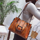 Women Shoulder Bags Vintage Handbag Tote Leather Boho Crossbody Purse Satchel photo