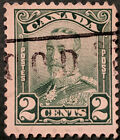 Stamp Canada 1928 George V Scroll issue 2c Used